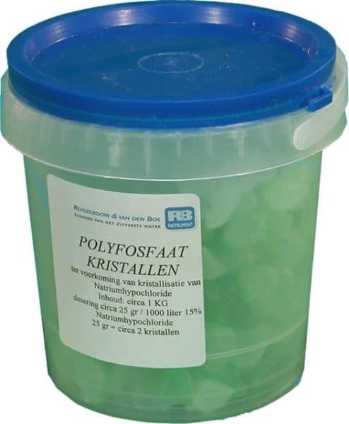 Polyfosfaat kristallen