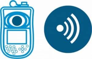Fotometer met Bluetooth